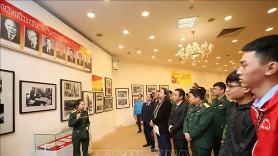 Efectúan en Hanoi exposición sobre el Partido Comunista de Vietnam