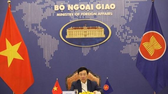 Vietnam participa en Reunión de ministros de Relaciones Exteriores de ASEAN