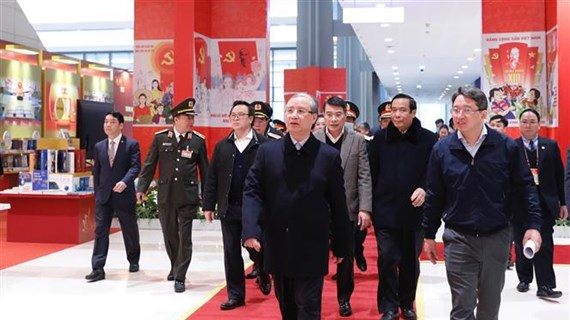 Revisan preparativos para celebración del XIII Congreso partidista de Vietnam