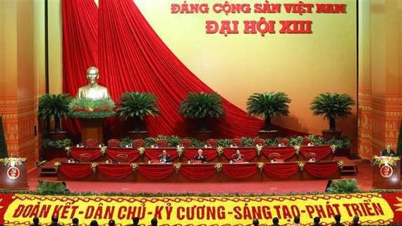 Efectúan sesión preparatoria del XIII Congreso Nacional del Partido Comunista de Vietnam