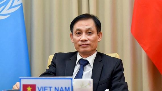 Protección de intereses nacionales de Vietnam aportará al mantenimiento de la paz y seguridad internacional