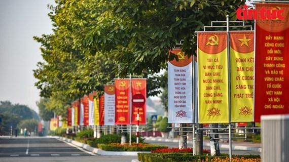 Partido Comunista de China felicita al XIII Congreso Nacional partidista de Vietnam