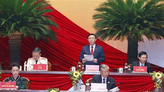 Prosiguen debate de documentos del XIII Congreso partidista de Vietnam