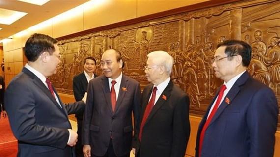 Destaca periodico estadounidense elección de nuevos dirigentes de Vietnam