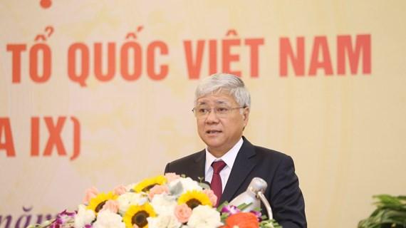 Nombran a nuevo presidente del Frente de la Patria de Vietnam