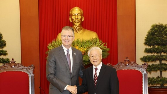 Reafirman deseo de fomentar asociación integral Vietnam- EE.UU.
