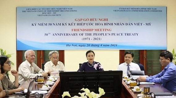Resaltan significados de Tratado Popular de Paz entre Vietnam- Estados Unidos