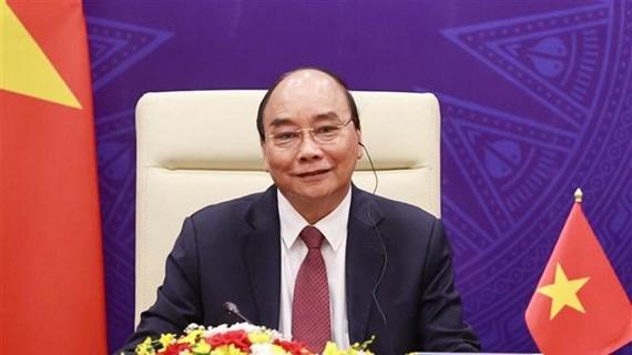 Presidente de Vietnam participa en la cumbre virtual sobre el cambio climático