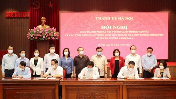 Carretera de circunvalación 4, clave para la conexión de la Región capitalina de Vietnam