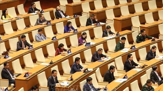 Presidente del Parlamento de Vietnam se reúne con votantes de Hai Phong