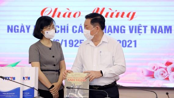 Felicitan a la Agencia Vietnamita de Noticias por el Día de la Prensa Revolucionaria