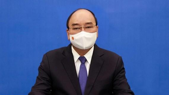 Presidente de Vietnam sostiene conversación telefónica con secretario general de la ONU
