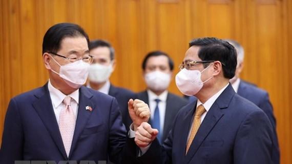 Cooperación antiepidémica impulsará relaciones Vietnam-Corea del Sur
