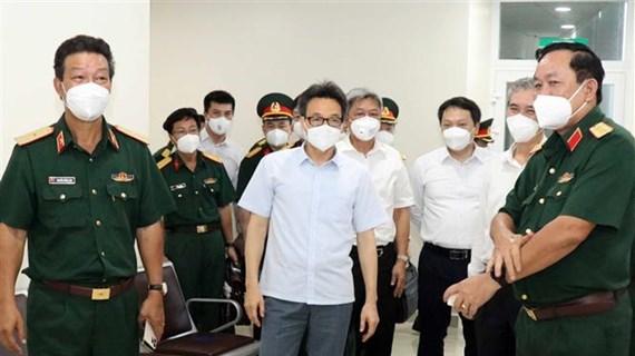 Ciudad Ho Chi Minh necesita medidas extraordinarias contra COVID-19, dice vicepremier
