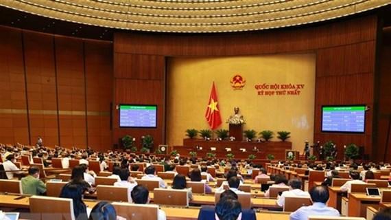 Parlamento de Vietnam ratifica resolución sobre desarrollo socioeconómico