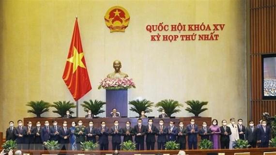 Parlamento de Vietnam aprueba nombramiento de ministros y altos funcionarios del gobierno