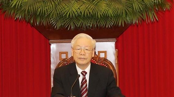 Máximo dirigente de Vietnam ratifica la solidaridad invariable con Cuba