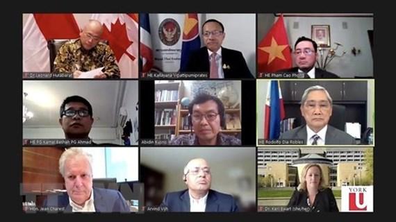 Propone Vietnam medidas para fortalecer lazos ASEAN-Canadá