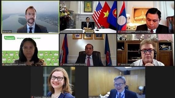 Publican informe sobre el diálogo político de asociación Mekong-Estados Unidos