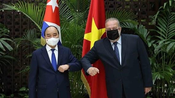 Consolidan Vietnam y Cuba cooperación en diversos sectores