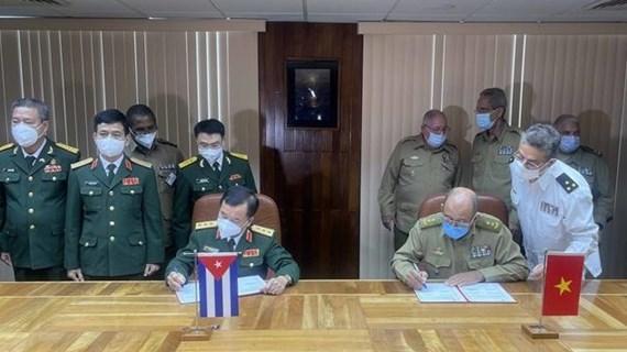 Vietnam y Cuba fortalecen cooperación en defensa