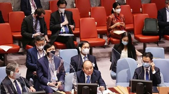 Presidente de Vietnam interviene en debate del Consejo de Seguridad sobre Clima y Seguridad