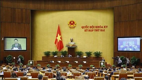 Parlamento de Vietnam analiza plan de presupuesto estatal
