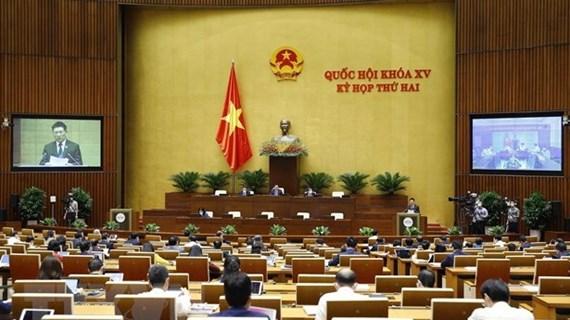Continúan agenda de segundo período de sesiones del Parlamento de Vietnam