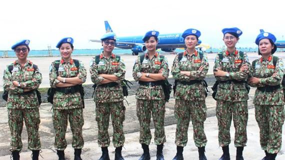 Vietnam valora papel de mujeres en mantenimiento de la paz