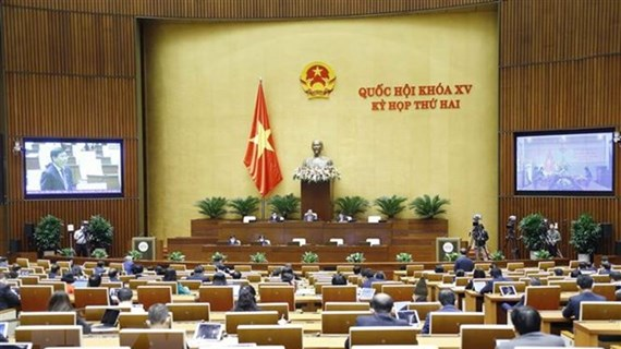 Debate Parlamento de Vietnam proyectos de modificación de varias leyes