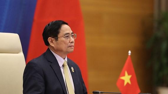 Primer ministro de Vietnam participa en la Cumbre ASEAN-China