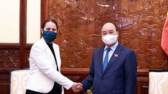 Presidente de Vietnam aboga por aumentar el intercambio comercial con Nueva Zelanda
