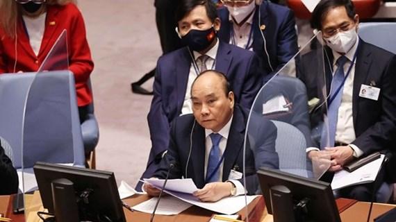 Presidente vietnamita participará en debate sobre cooperación entre la ONU y Unión Africana