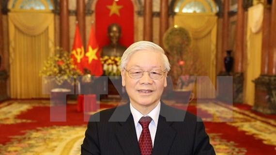 Deseo de paz y amistad en mensaje por Año Nuevo Lunar en Vietnam