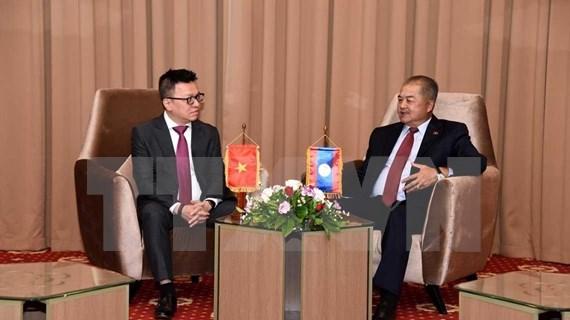 Estrechan Vietnam y Laos cooperación en la labor informativa