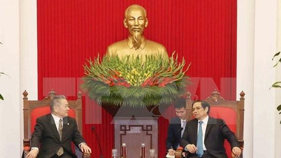 Delegación del Partido Comunista de Japón visita Vietnam