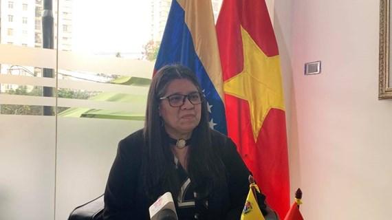 XIII Congreso Nacional del PCV será llave del futuro, según embajadora venezolana