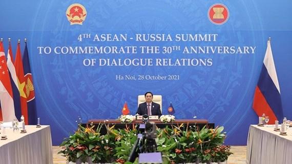Vietnam participa en IV Cumbre ASEAN-Rusia por 30 aniversario de nexos bilaterales