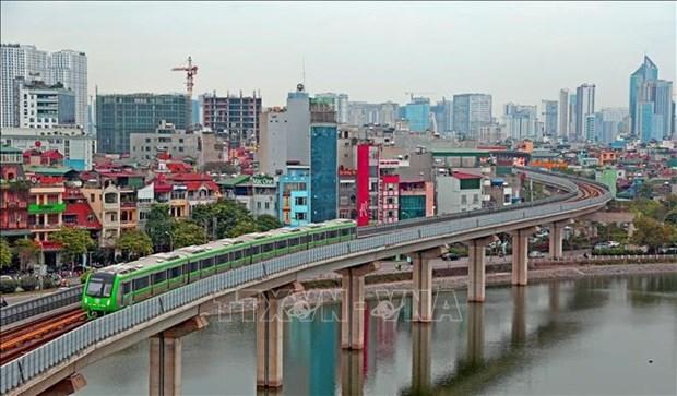 Linea ferroviaria elevada Cat Linh-Ha Dong entrara en operaciones comerciales hinh anh 1