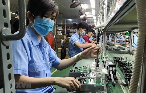 Empresas vietnamitas desarrollan la industria auxiliar para integrarse a cadenas de suministro global hinh anh 1
