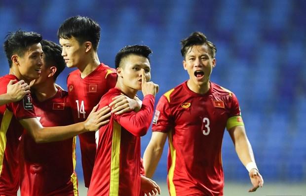 Victoria contra Indonesia afianza liderato de Vietnam en eliminatorias mundialistas de futbol hinh anh 1