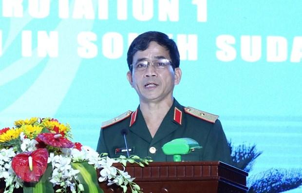 Fuerzas de mantenimiento de la paz contribuyen a mejorar la posicion de Vietnam hinh anh 2