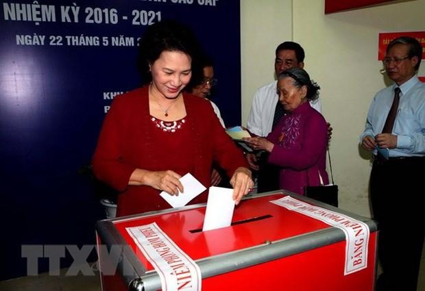 Asamblea Nacional de Vietnam: maximo organo del poder estatal y de representacion del pueblo hinh anh 5