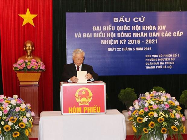 Asamblea Nacional de Vietnam: maximo organo del poder estatal y de representacion del pueblo hinh anh 4