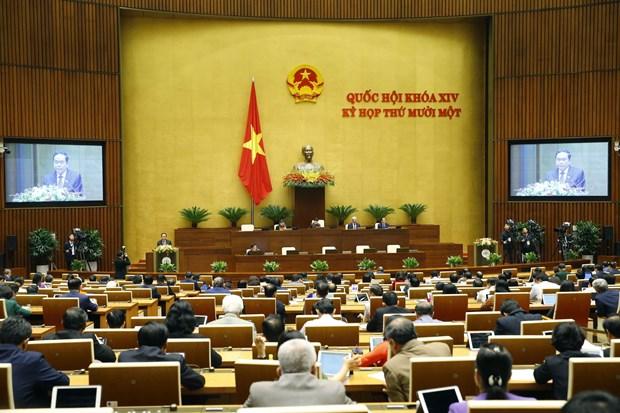 Asamblea Nacional de Vietnam: maximo organo del poder estatal y de representacion del pueblo hinh anh 1