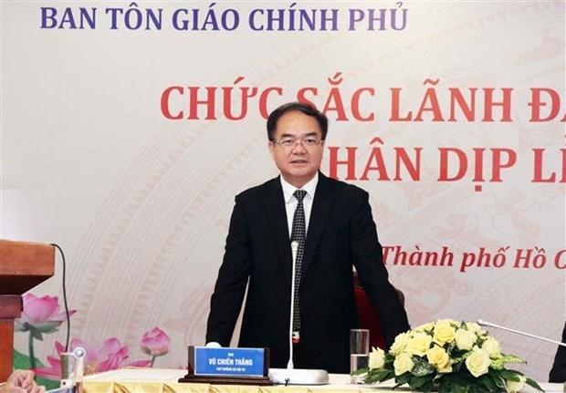 Exhortan a suspender actividades religiosas en Vietnam para prevenir el COVID-19 hinh anh 2