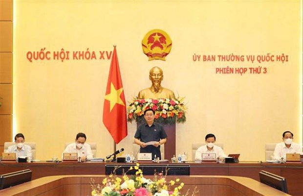 Inauguran tercera reunion del Comite Permanente de la Asamblea Nacional de Vietnam hinh anh 1
