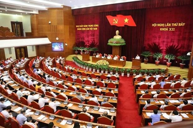 Consolidacion de las filas del Partido Comunista de Vietnam en mirada de amigos internacionales hinh anh 1