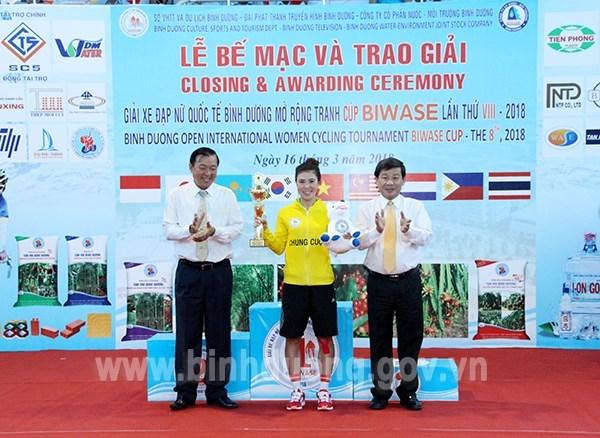 Inauguran en Vietnam competencia internacional de ciclismo femenino Binh Duong 2019 hinh anh 1