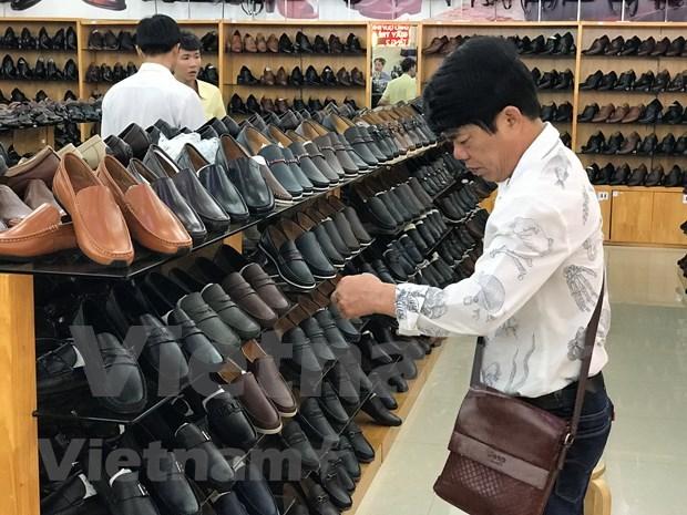 Busca sector de cuero y calzado vietnamita desarrollar sus propias marcas hinh anh 4